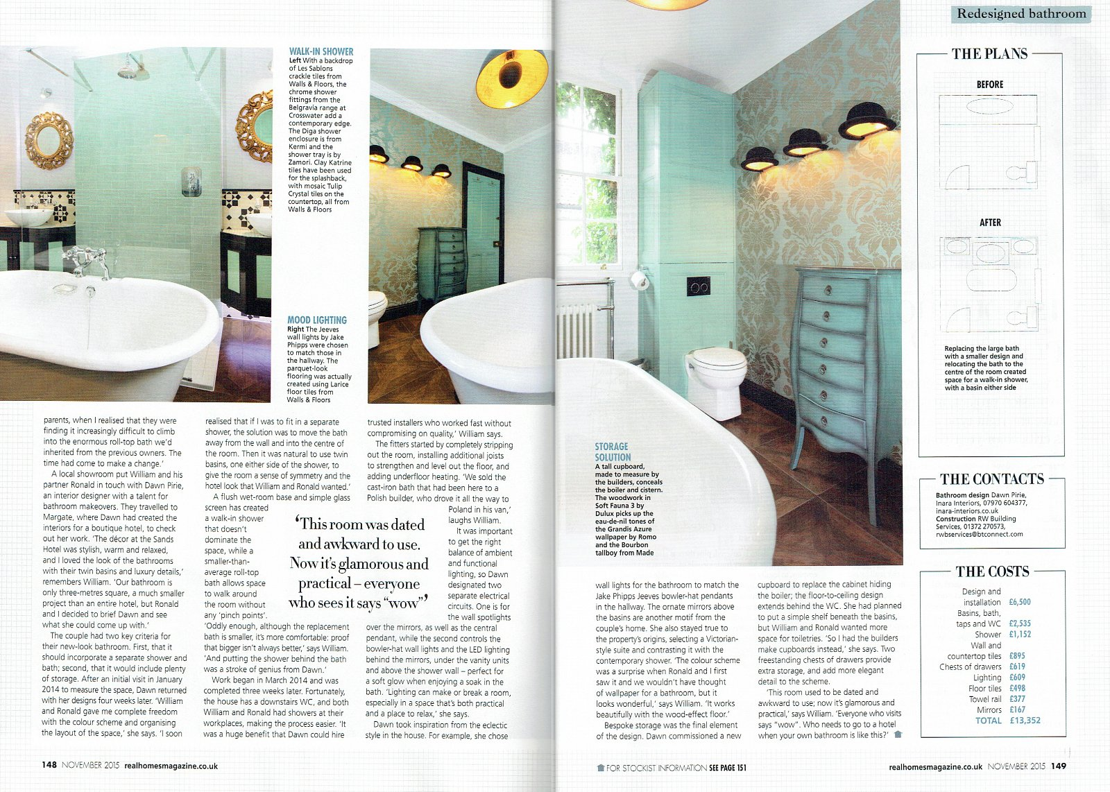 Real Homes Magazine Inara Interiors Luxury Interior Designer Based In Woking Covering London