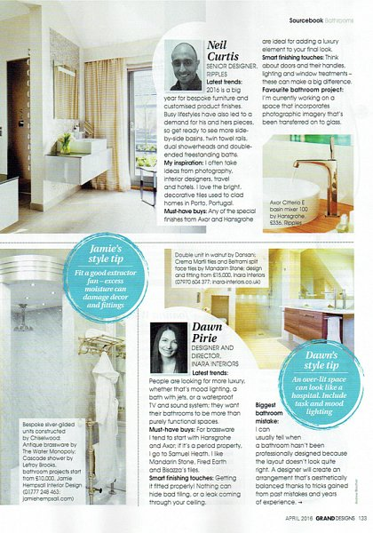 Grand Designs April 2016 Bathroom Advice