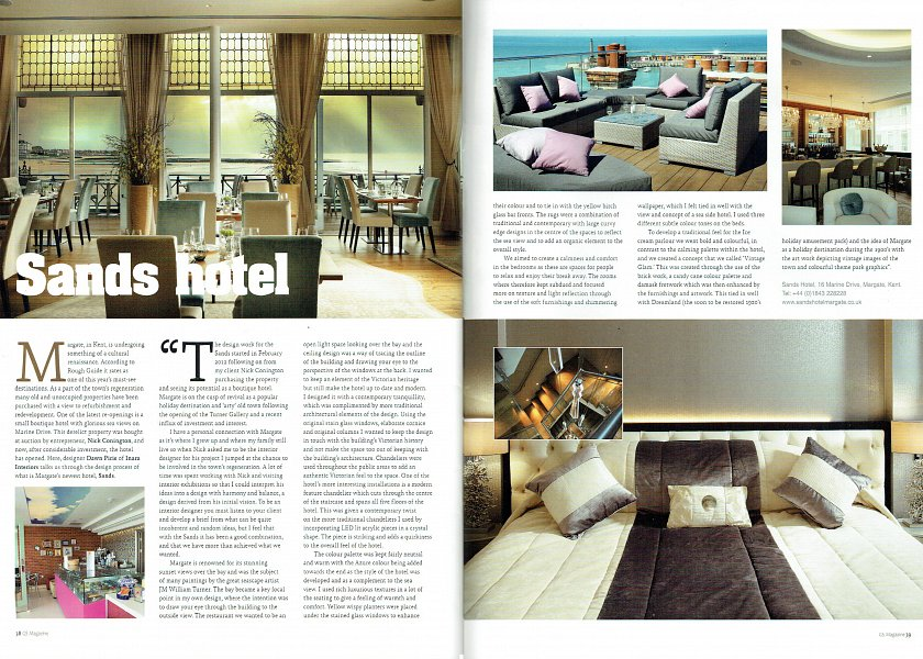 GS Magazine - Sand Hotel article